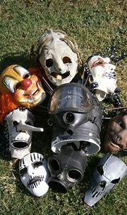 Slipknot Masks by NekoKunYoshi on DeviantArt