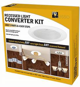 Convert 6 Recessed Light To 4