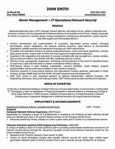 It network manager resume