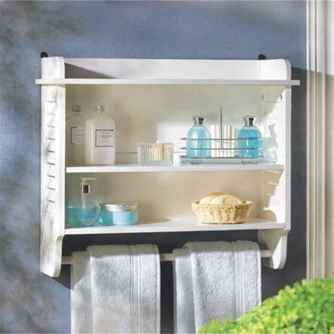 espresso bathroom wall cabinet with towel bar 20 best wooden bathroom shelves reviews