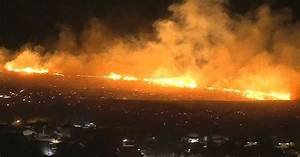 Sierra Fire erupts near Los Angeles as death toll rises in ...