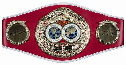 Tyson Mike Belt Ibf Champion Heavyweight Dna