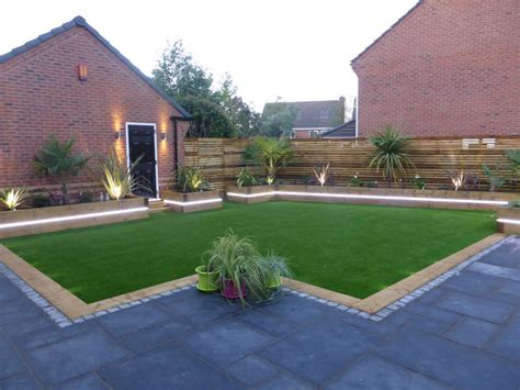 contemporary garden landscape design warrington cheshire
