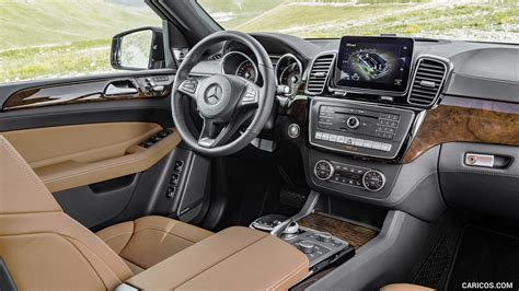 mercedes benz gls  matic leather saddle brown