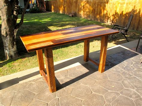 reclaimed wood kitchen table arbor exchange reclaimed wood furniture patchwork