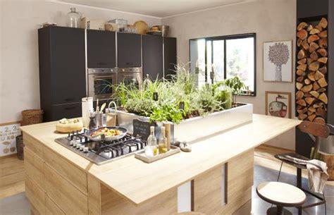 plan de travail pour ilot central cuisine cuisine avec îlot central l essayer c est l adopter
