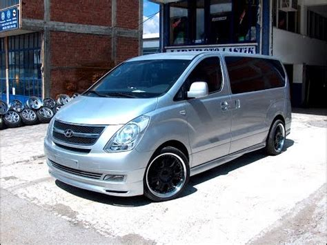 Hyundai H1 Modification by Hyundai Starex Tuning Avto Tuning