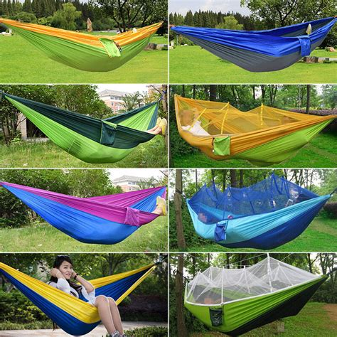 Hanging Hammock by Portable Travel Cing Outdoor Hammock Hanging