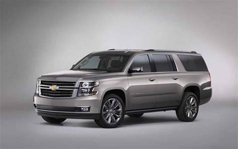 2018 Chevrolet Suburban Side Photo For Desktop New