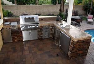 Custom, Outdoor, Kitchens