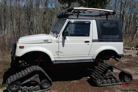 jeep suzuki samurai for sale suzuki samurai snowcat jeep rockcrawler 4x4 lifted tracks