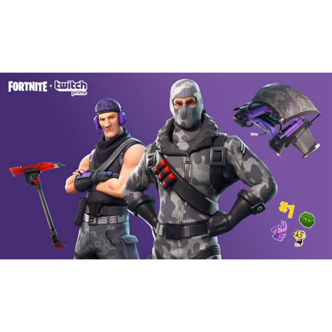 fortnite skin pack twitch prime  days ps games