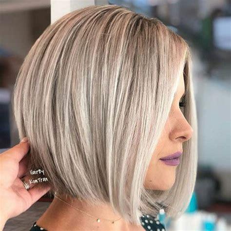 blonde bob hairstyles  peluqueria cabello color