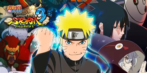 naruto shippuden ultimate ninja storm  full burst hd