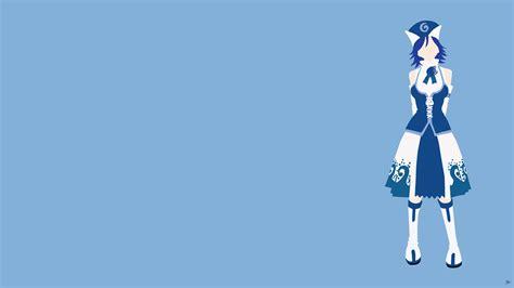 juvia lockser fairy tail minimalistic wallpaper