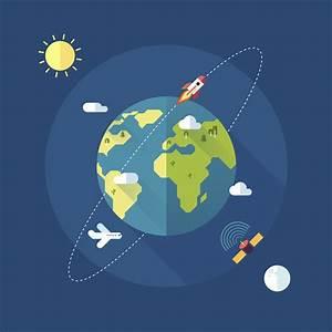 HughesNet Presents: Satellites Orbiting Earth