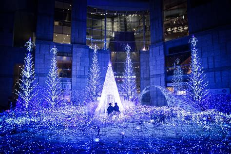 25 places to see winter illuminations in tokyo