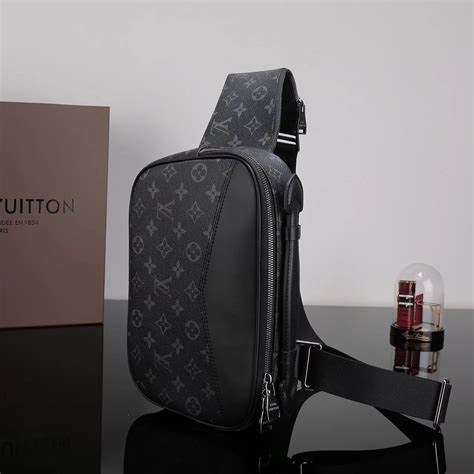 cheap men lv louis vuitton  explorer waist pack handbag monogram bag gray lv