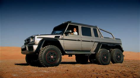 Richard Hammond Tests A 6x6 Suv In Abu Dhabi  Top Gear