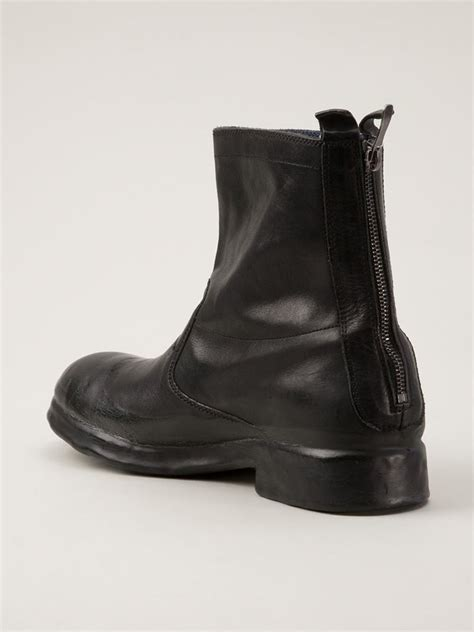 lyst oxs rubber soul ankle boot  black  men