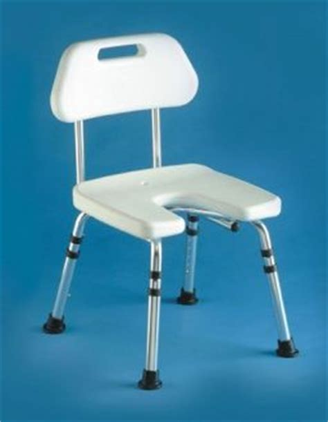 shower chair with cut away seat showering chairs by