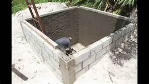 Tutorial para la construcción de una cisterna de agua pluvial (10m3) YouTube
