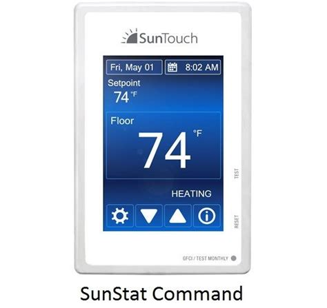 suntouch thermostat command or connect pick your