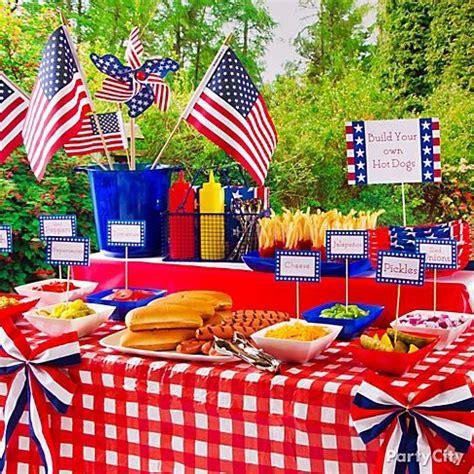 4th of july celebration ideas wedding picnic party decorations ideas rachael edwards