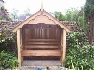 Garden Seats Wooden Image