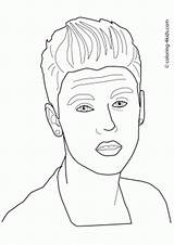Coloring Pages Celebrity Printable Celebrities Books Mendes Shawn Famous Sheets Drawings Bieber Justin Designlooter 04kb 375px sketch template