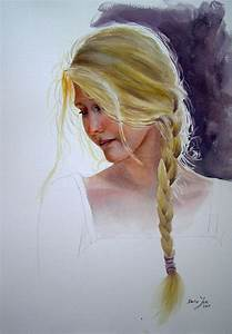 Romantic Figurative Paintings in watercolor and oil