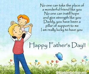 Daddy you have been a pillar of support to me | Greeting card