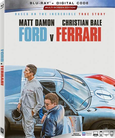 ford  ferrari digital blu ray details release date