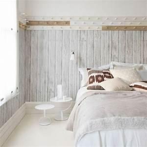 Tapete Holzoptik Weiß : tapete in holzoptik 24 effektvolle wandgestaltungsideen ~ Eleganceandgraceweddings.com Haus und Dekorationen