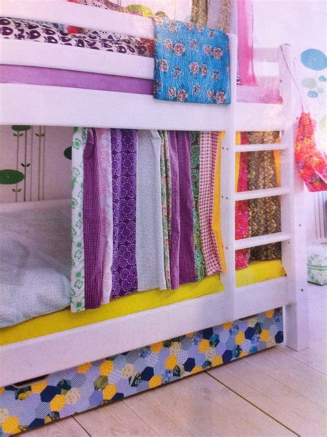 bunk bed curtains kid s room bunk bed