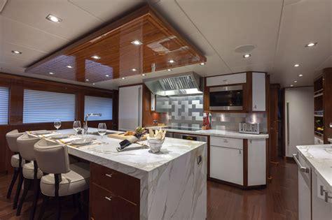 yacht kitchen design yachts finish line www yachtworld www 1201