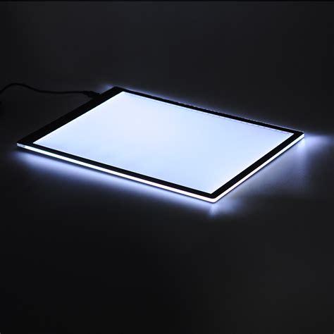 waterproof wall board lightbox pattern tracing pad led a4 lightbox