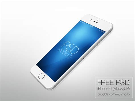 iphone 6 free collection of best free quot iphone 6 quot mockup design templates