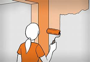 Wände Streichen Farbe : w nde fachm nnisch streichen obi erkl rt wie es geht ~ Markanthonyermac.com Haus und Dekorationen