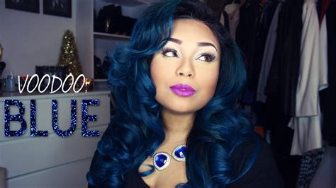 Hair With Blue by Voodoo Blue Ombre Blue Hair