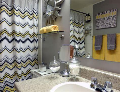 grey  yellow bathroom modern bathroom toronto