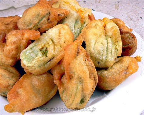 beignets de fleurs de courgettes une cuisine pour voozenoo