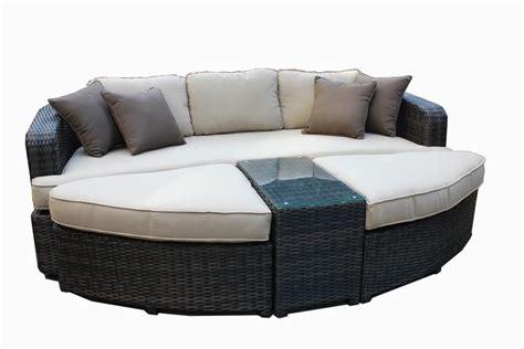 kontiki patio furniture manufacturer no reserve kontiki wicker rattan daybed set outdoor