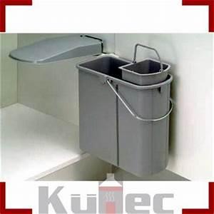 Mülleimer Für Küche : einbau abfallsammler schwenkbar 5 l bioeinsatz 19 l ~ Michelbontemps.com Haus und Dekorationen