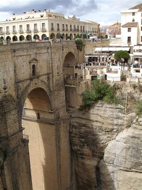 The Clifftop Town Of Ronda Lies In The Spanish Province Of