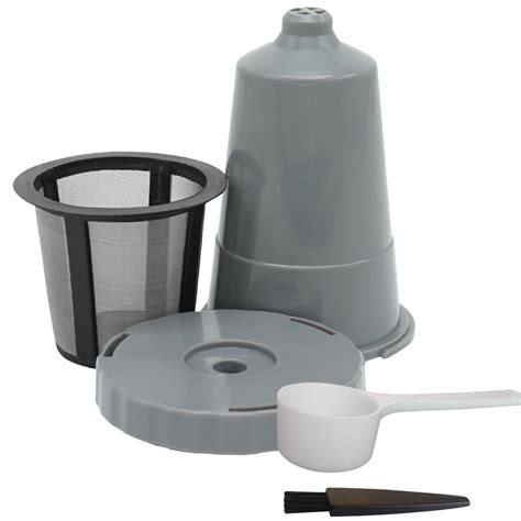 That being said, our advice would be to go for the regular replacement, as it's a big health issue. K-Cup Repeatable Coffee Filter Baskets Coffee Filter Capsule Pod K-Cup Replacement Coffee Filter ...