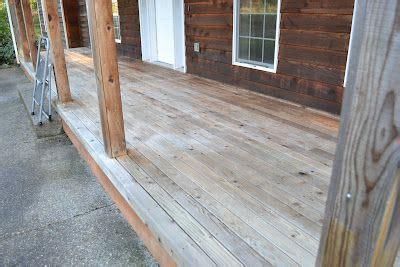 homemade deck cleaner  quarts water  quart bleach
