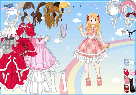 Anime Dressup Dreamer S Avocade Anime Dress Up By Willbeyou On