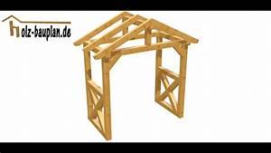 Vordach Hauseingang Holz Bauanleitung : vordach einfach selber bauen youtube ~ A.2002-acura-tl-radio.info Haus und Dekorationen