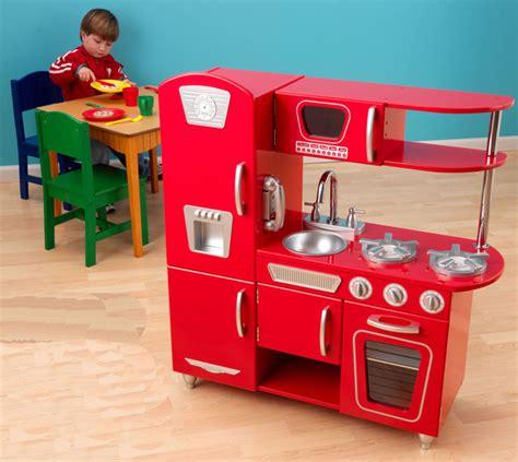 Kidkraft Red Retro Vintage Kitchen  All Modern Baby